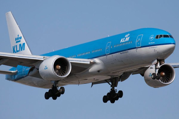 KLM Boeing 777-200ER (CC BY-SA 2.0 P. Cardinal)