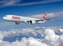 Boeing 777-300ER in the lievery of Swiss (© Boeing)