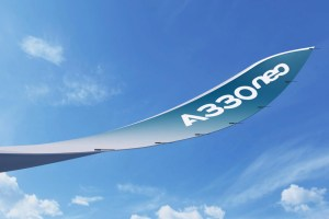 Sharklet of the new A330neo (© Airbus)