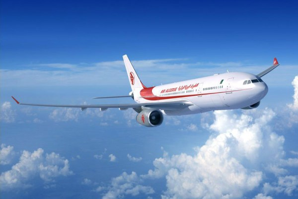 Airbus A330-200 in the livery of Air Algerie (© Airbus)