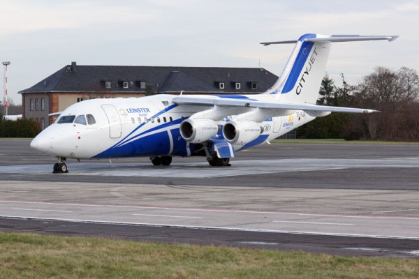 Cityjet Avro RJ85 in a special livery (© O. Pritzkow)