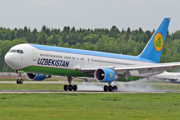 Uzbekistan Airways Boeing 767-300ER (GFDL 1.2 G. Misko)