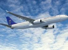 Airbus A330-300 Regional in the livery of Saudi Arabian (© Airbus)