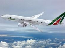 Artist impression of the new Alitalia livery