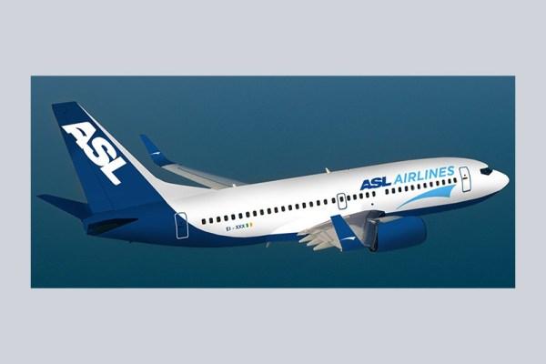 Artist impression of ASL Airlines (© ASL Aviation)