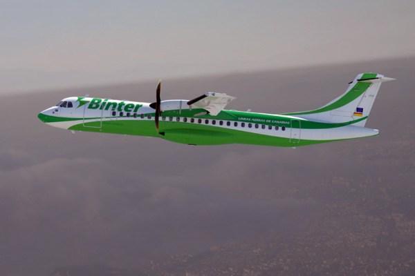 ATR72-600 in the livery of Binter (© ATR)