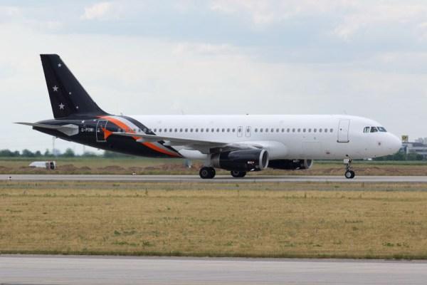 Titan Airways Airbus A320-200 (© O. Pritzkow)
