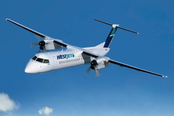 Westjet Bombardier Q400 (© Bombardier)
