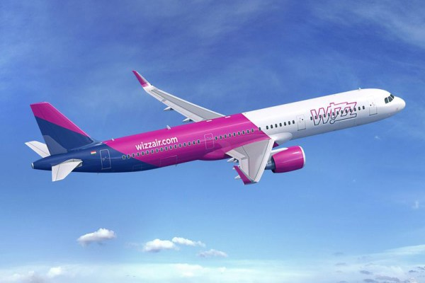 Airbus A321neo in the livery of Wizz Air (© Airbus)