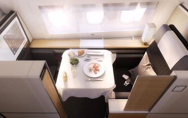 Swiss 777-300ER First Class (© Swiss)