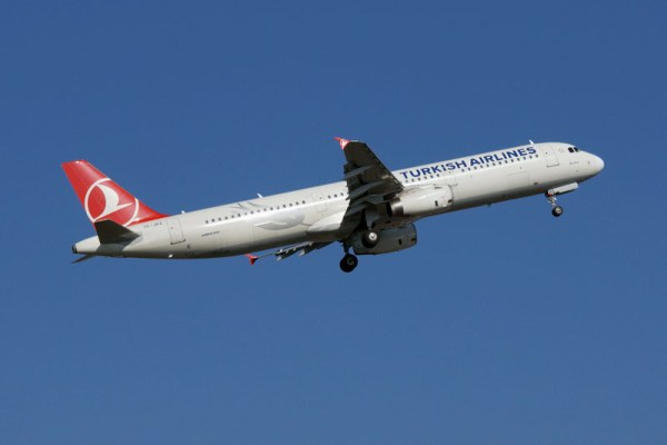 Turkish Airlines Airbus A321 (© O. Pritzkow)