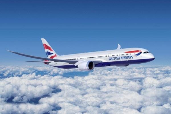 British Airways Boeing 787-9 (© Boeing)