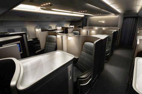 First Class der British Airways in der Boeing 787-9 (© BA)