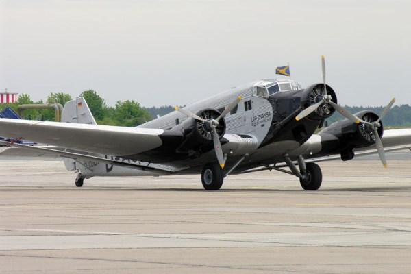 Junkers Ju52/3m der Lufthansa Stiftung (© O. Pritzkow)