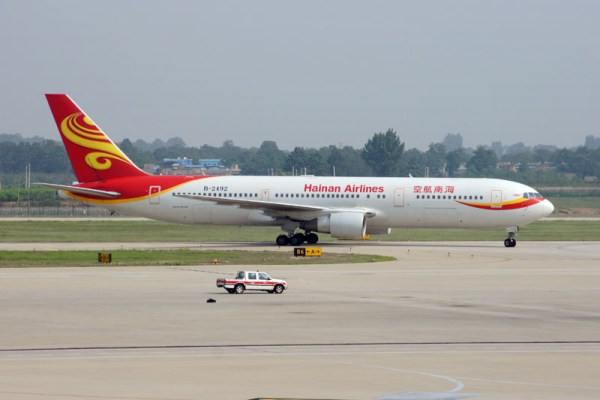 Hainan Airlines Boeing 767-300ER (© O. Pritzkow)