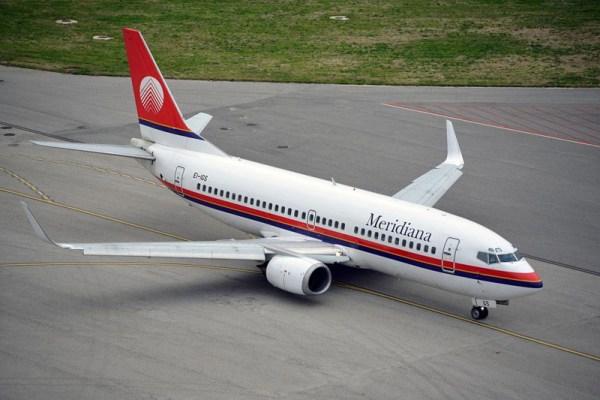 Meridiana Boeing 737-700 (© Meridiana)