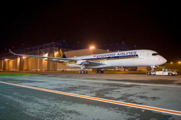 Airbus A350-900 für Singapore Airlines (© Airbus)