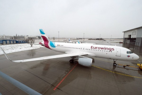 Eurowings Airbus A320-200 (© Eurowings)