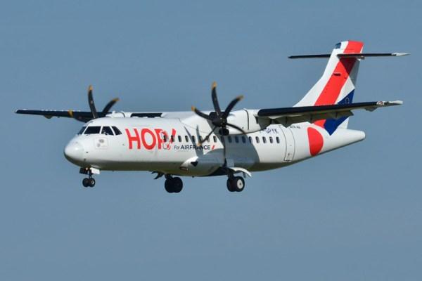 ATR42-500 der HOP! (CC BY-SA 2.0 L.Errera)