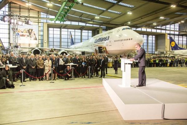 Ansprache Lufthansa CEO Carsten Spohr (© Lufthansa)