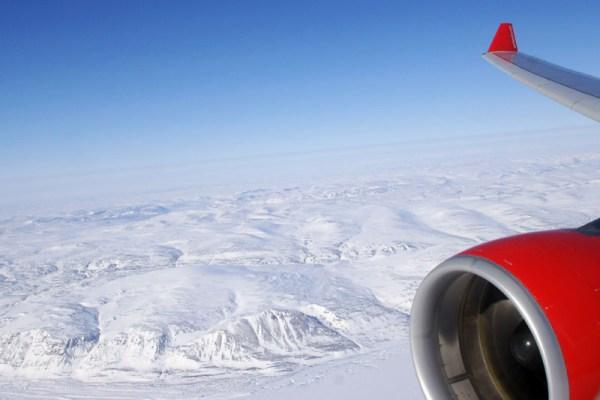 Polarflug mit A330 der Air Berlin (© O. Pritzkow)