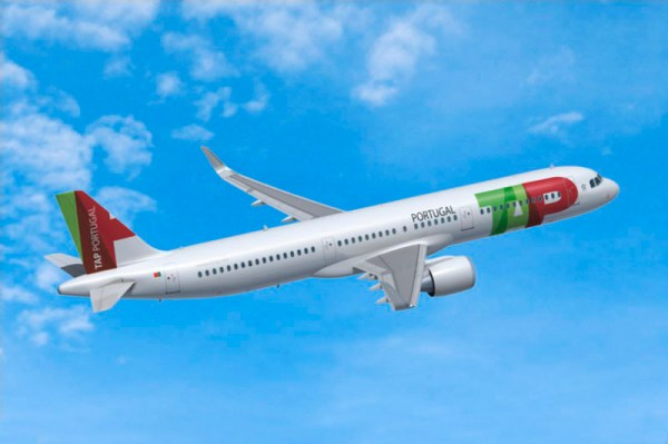 Airbus A321neo in den Farben der TAP Portugal (© Airbus)
