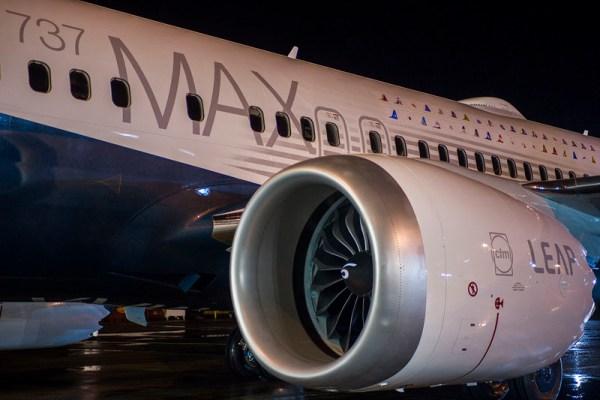LEAP-1B-Triebwerk von CFM an der Boeing 737 MAX 8 (© Boeing)