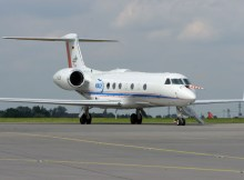 DLR Gulfstream G550 HALO (© O. Pritzkow)