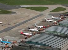 Blick auf das Vorfeld des Hamburger Flughafens (© HAM, M. Penner)