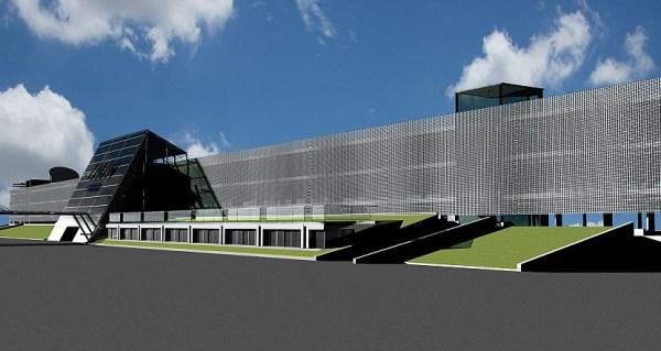 Erweitertes Parkhaus am Flughafen Innsbruck (© INN Airport)