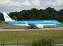Embraer 190 der KLM cityhopper (© O. Pritzkow)