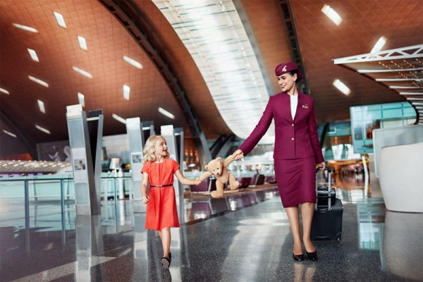Neue Qatar-Kampagne - Going Places together (© Qatar Airways)
