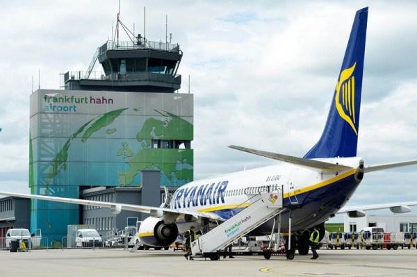 Ryanair am Flughafen Hahn (© Hahn Airport)