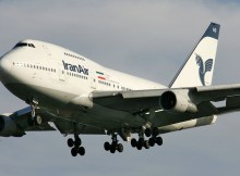 Boeing 747SP der Iran Air (GNU 12. D. Pichugin)