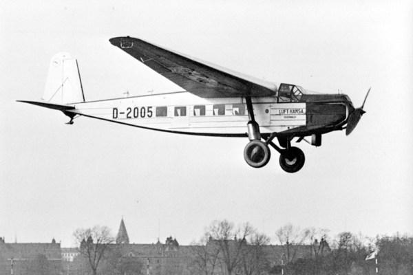 Die BFW M20 stand zwischen 1929 und 1943 im Einsatz (© Lufthansa)