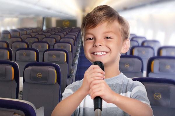 Lufthansa sucht die beste Kinder-Bordansage (© LH)