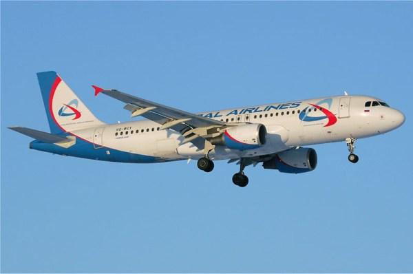 Ural Airlines Airbus A320-200 (GFDL 1.2 D. Pichugin)