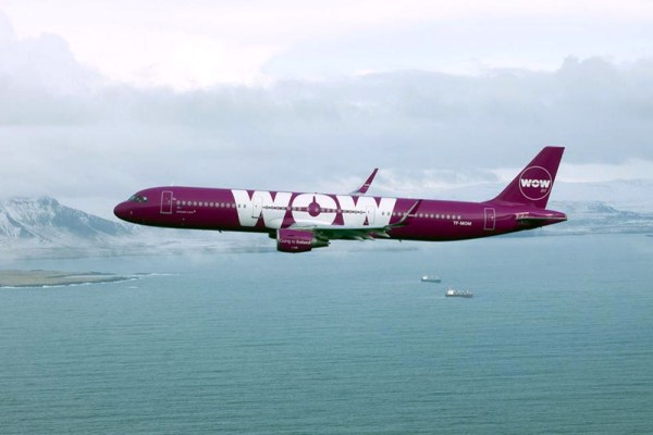 WOW Air Airbus A321 (© WOW Air)