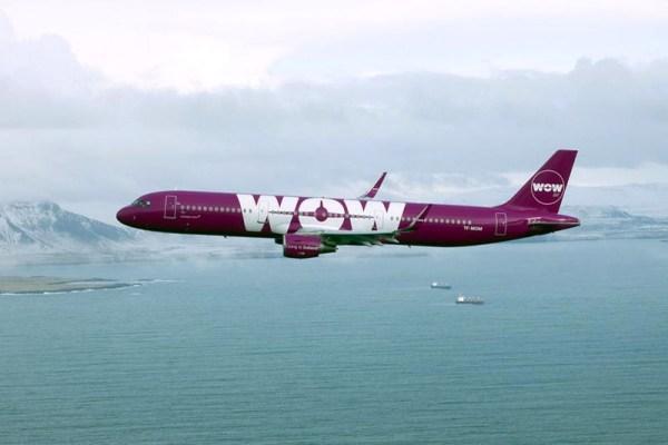 WOW Air Airbus A321 (© WOW Air)