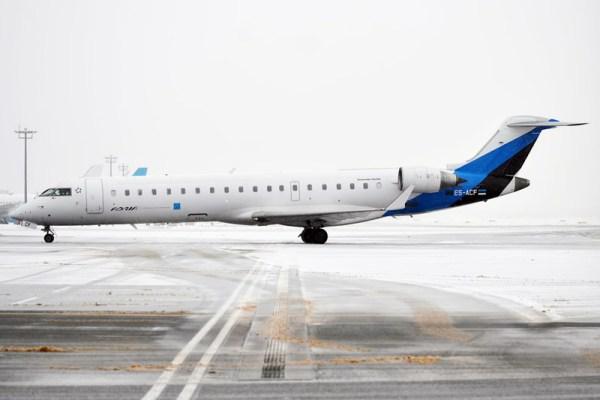 Bombardier CRJ700 der Nordic Aviation (A. Zvereva, CC-BY SA 2.0)