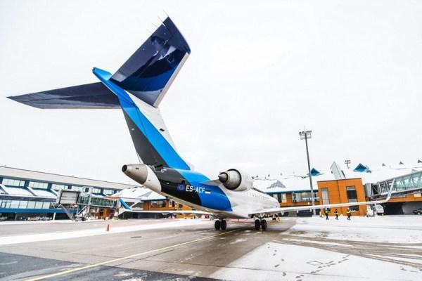 Bombardier CRJ700 der Nordic Aviation (© Nordic Av)