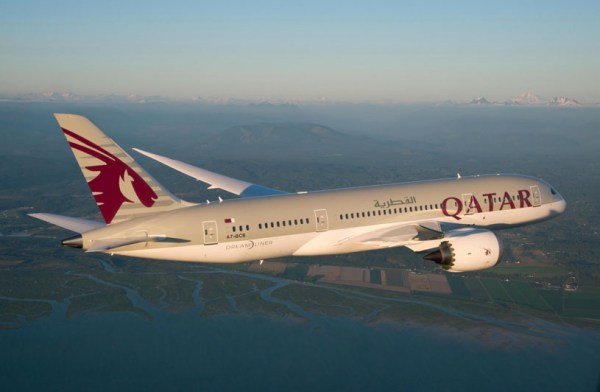 Qatar Airways Boeing 787 (© Qatar Airways)