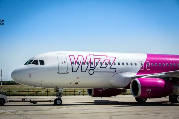 Bug eines Airbus A320 der Wizz Air