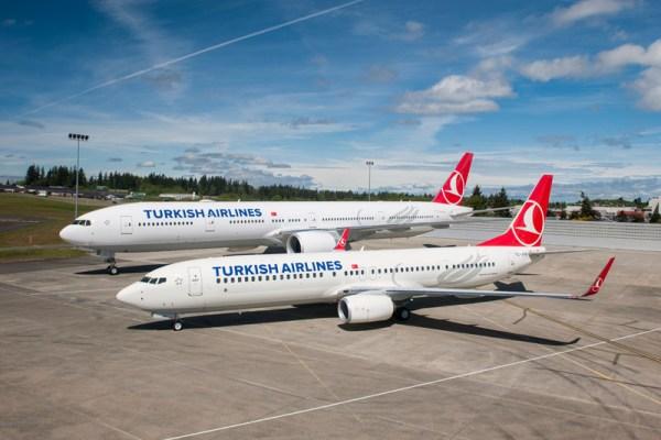 Boeing-Jets für Turkish Airlines (© THY)