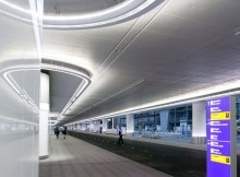 Sanierte Terminalvorfahrt (© Fraport)
