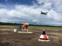 Sanierung Rollweg Delta (© NUE Airport)