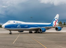 Boeing 747-8F der britischen Tochter CargoLogicAir (© Boeing)
