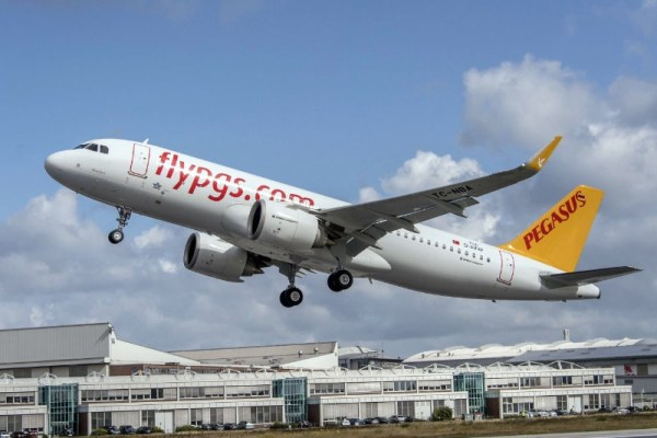Pegasus Airlines Airbus A320neo mit CFM LEAP-1A-Triebwerken (© Pegasus)