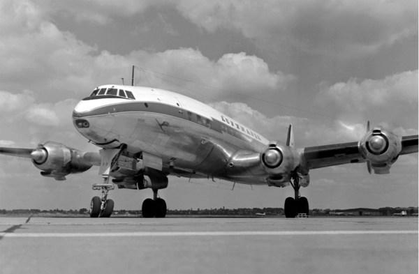 """Lockheed L 1049 G """"Super Constellation""""  (Foto: Lufthansa)"""