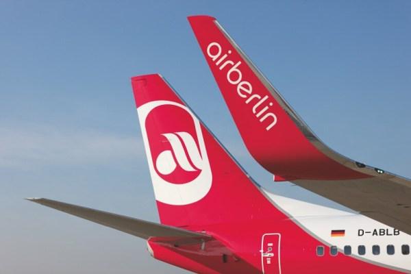 Heck einer Boeing 737-700 (© Air Berlin)
